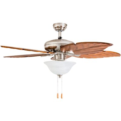 52 Longford 5 Blade LED Ceiling Fan Accessories: Standard No Remote