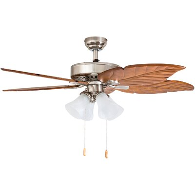 52 Ogden 5 Blade Ceiling Fan Accessories: Standard No Remote