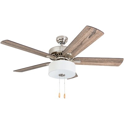 52 Pantano 5 Blade LED Ceiling Fan Accessories: Standard No Remote