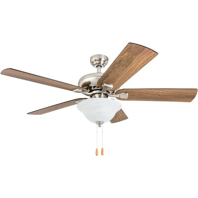 52 Tyree 5 Blade LED Ceiling Fan Accessories: Standard No Remote