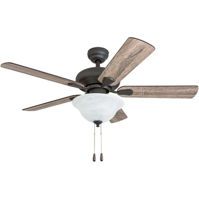 42 Ugalde 5 Blade LED Ceiling Fan Accessories: Standard No Remote
