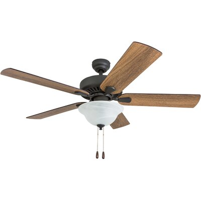 52 Tyrell 5 Blade LED Ceiling Fan Accessories: Standard No Remote