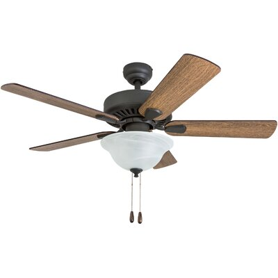 42 Tyus 5 Blade LED Ceiling Fan Accessories: Standard No Remote