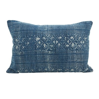 Rupert Distressed Down Filled Lumbar Pillow