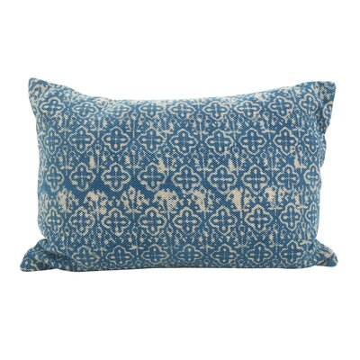Rupert Cross Oblong Down Filled Lumbar Distressed Pillow