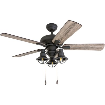 42 Raymer 5 Blade LED Ceiling Fan Accessories: Standard No Remote
