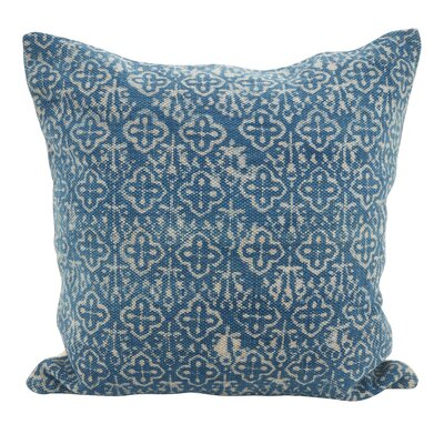 Rupert Cross Square Down Filled Throw Pillow