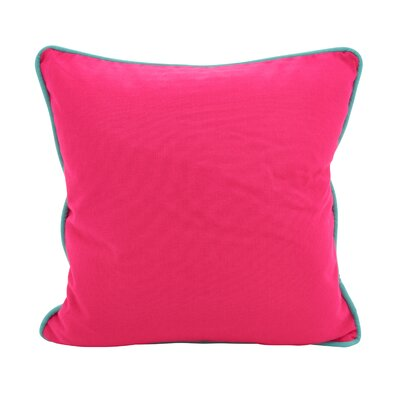 Hunnicutt Accent Cotton Throw Pillow Color: Fuchsia