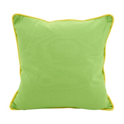 Hunnicutt Accent Cotton Throw Pillow Color: Lime