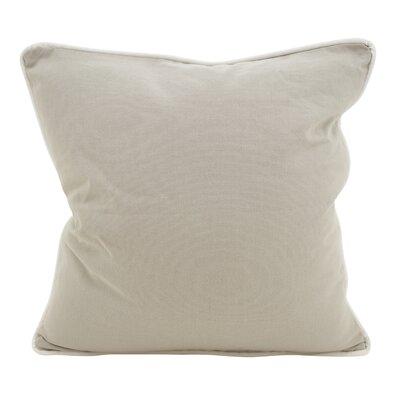 Hunnicutt Accent Cotton Throw Pillow Color: Gray