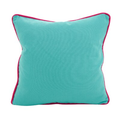 Hunnicutt Accent Cotton Throw Pillow Color: Turquoise