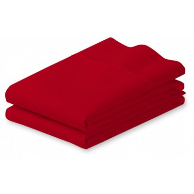 Putney Pillow Case Size: King, Color: Burgundy