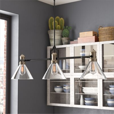 Jae 3-Light Kitchen Island Pendant