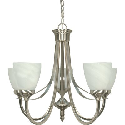 Keane 5-Light Candle-Style Chandelier