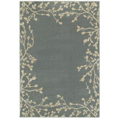 Gallman Blue/Beige Area Rug Rug Size: Rectangle 710 x 10