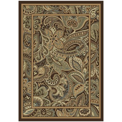 Sandler Brown/Gray�Area Rug Rug Size: Rectangle 710 x 1010