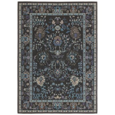 Halford Over-dyed Charcoal�Area Rug