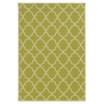 Eita Green/Ivory Indoor/Outdoor�Area Rug