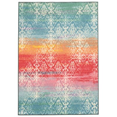Silva Blue Area Rug Rug Size: Rectangle 710 x 10