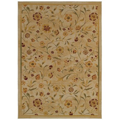Gallegos Floral Beige/Green�Area Rug