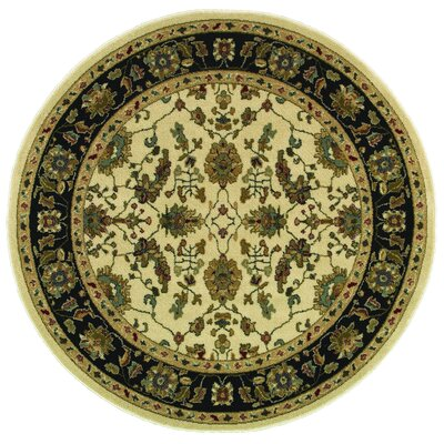 Witt Ivory/Dark Blue�Area Rug