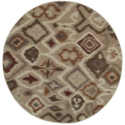 Rountree Tribal Beige/Rust�Area Rug