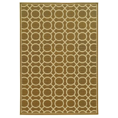 Gallien Geometric Beige/Ivory Indoor/Outdoor�Area Rug
