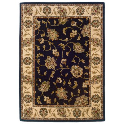 Sandoval Navy/Beige�Area Rug Rug Size: Rectangle 910 x 129