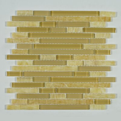 Brick Random Sized Marble Mosaic Tile in Beige