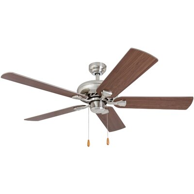 52 Hockensmith 5 Blade Ceiling Fan Accessories: Standard No Remote