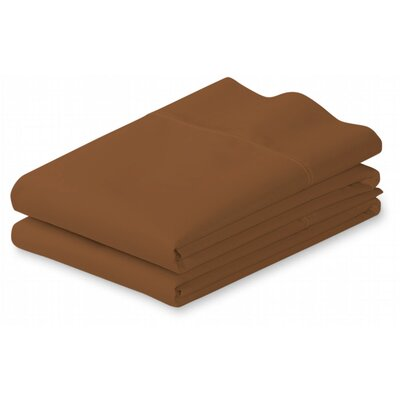 Putney Pillow Case Size: King, Color: Brown