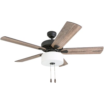 52 Pankratz 5 Blade LED Ceiling Fan Accessories: Standard No Remote