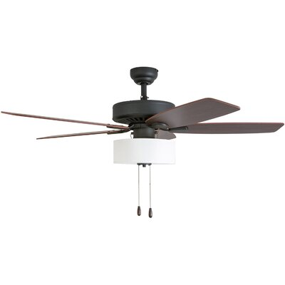 52 Harkers 5 Blade LED Ceiling Fan Accessories: Standard No Remote