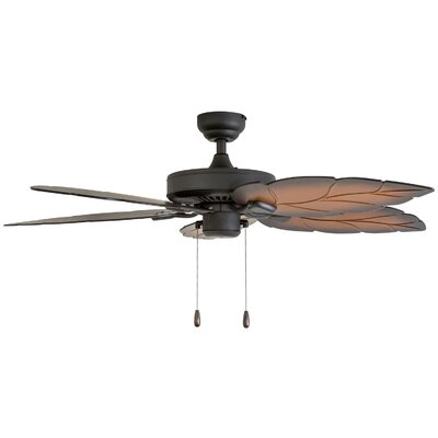 52 Wetherington 5 Blade Ceiling Fan Accessories: Standard No Remote