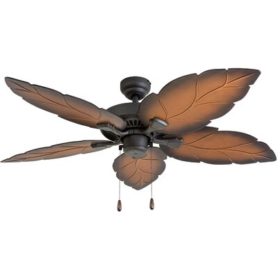 52 Yorkton 5 Blade LED Ceiling Fan Accessories: Standard No Remote