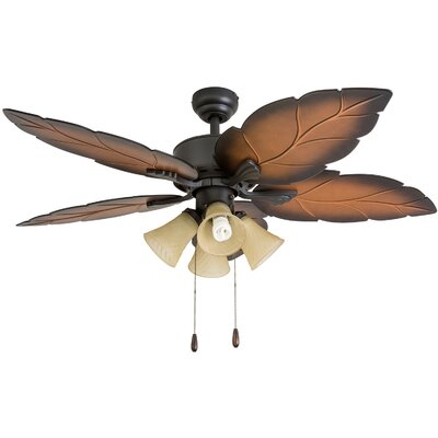 52 Elderfield 5 Blade Ceiling Fan Accessories: Standard No Remote