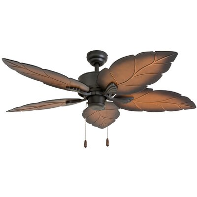 52 Barnwell 5 Blade Ceiling Fan Accessories: Standard No Remote