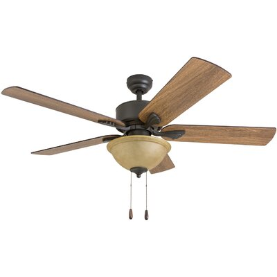 52 Uecker 5 Blade Ceiling Fan Accessories: Standard No Remote