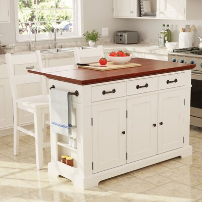 Hewish Kitchen Island Set