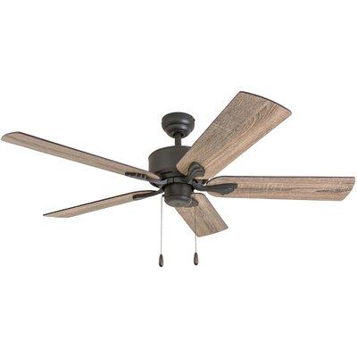 52 Ravenna 5 Blade Ceiling Fan Accessories: Standard No Remote