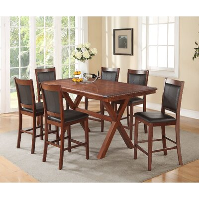 Tilton 7 Piece Counter Height Dining Set