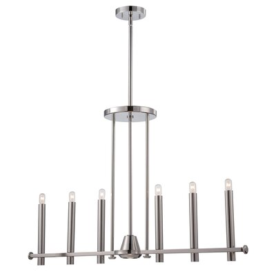Hugley 7-Light Candle-Style Chandelier
