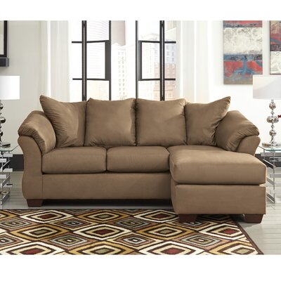 Parthena Sectional Upholstery: Mocha