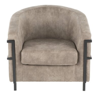 Troxler Barrel Chair Upholstery: Stone