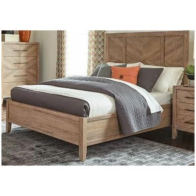 Hillam Panel Bed Size: California King