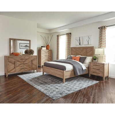 Hillam Panel Configurable Bedroom Set