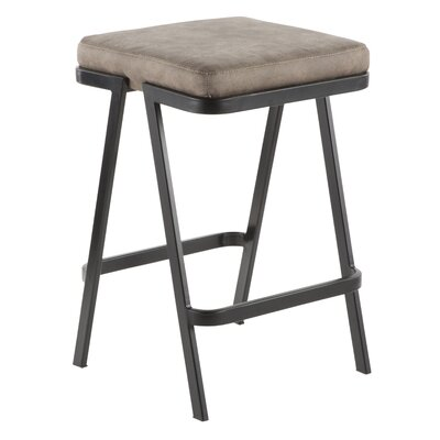 Hofer 25 Bar Stool Upholstery: Stone