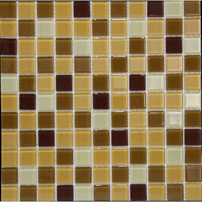 Miscellaneous  1 x 1 Glass Mosaic Tile in Siena