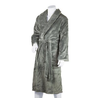 Tahoe Bathrobe Color: Gray