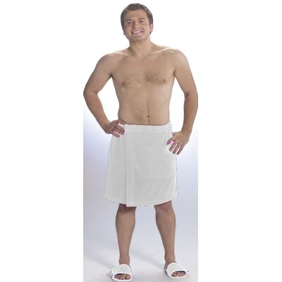 Mens Velour Wrap Bath Towel